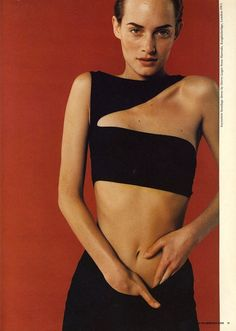 I Love Your Style: 90's dream team: Amber Valetta, Juergen Teller, Camilla Nickerson, Dick Page, Didier Malige