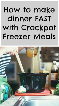 Trust us, Crockpot Freezer Meals will change your life! Get started with this easy guide. Crock Pot Freezer, Freezer Cooking, Bulk Cooking, Make Ahead Freezer Meals, Cooking Recipes, Freezer Recipes, Crock Pot Cooking, Healthy Crockpot Recipes, Slow Cooker Recipes