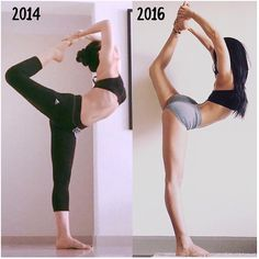 """6,783 Likes, 40 Comments - Yoga For The Non Flexible (@inflexibleyogis) on Instagram: """"Progress is not made in days or weeks. It's made in months and years. Good news - the time will…"""""""
