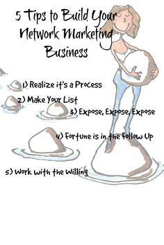 don't know the best way to build your network marketing business? In this post I share with you 5 Tips to Building Your Network Marketing Business. http://donnawildman.com/5-tips-to-building-you-network-marketing-business #networkmarketingtips