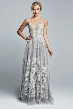 Picture 1 - 50 Unique & Unconventional Wedding Dresses - I would wear this as a prom dress Evening Dresses, Prom Dresses, Wedding Dresses, Dress Prom, Dresses 2016, Quinceanera Dresses, Gown Wedding, Party Wedding, Wedding Reception