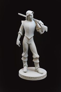 Post with 281856 views. Disney maquette sculptures by artist Kent Melton Zbrush Character, Character Modeling, 3d Character, Character Design, 3d Modeling, Walt Disney, Disney Art, Disney Animation, Animation Film