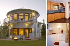 Grain Silos Converted Into a Beautiful Modern Home