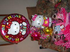 Hello Kitty Balloons gift