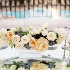 #tablescape florals by #louloudidesign #alegriabydesign #SantaBarbaraWedding