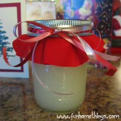 Peppermint Foot Scrub--Only 3 ingredients!! Great to give out during Christmas!