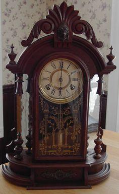 Ingraham Mirrorside Parlor Clock c.1880