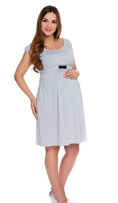 Cut Under Maternity Dress with Bow