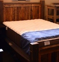 Outwest Furniture Bozeman Locally Made Queen Rustic Trim Bed: $849
