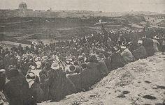 [Ottoman Empire] Nabi Musa Festival, Jerusalem, Palestine, 1903 (Osmanlı Dönemi Kudüs'de Nebi Musa Kutlaması, 1903)