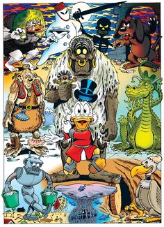 Scrooge McDuck by Don Rosa.