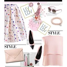 LIV LOV Fashion Top Fashion Sets for Aug 8th, 2015 by spenderellastyle on Polyvore featuring polyvore fashion style Yves Saint Laurent HarLex Mally Swarovski