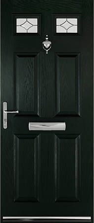 Green Stratford door & Rosewood Verona door | Ideas for the House | Pinterest | Verona ...