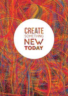 Create! - Art Print by Fimbis