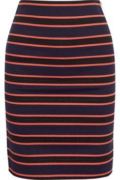Sonia by Sonia Rykiel | Striped stretch-jersey skirt  | NET-A-PORTER.COM - £150