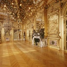 Marble House gold ballroom.  Newport, RI.  Richard Morris Hunt, architect