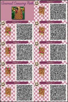 QR codes - (page 148) - Animal Crossing new leaf