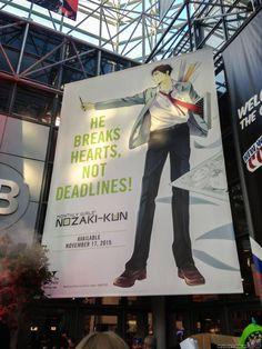 He breaks hearts, not deadlines!   Gekkan Shoujo Nozaki-kun
