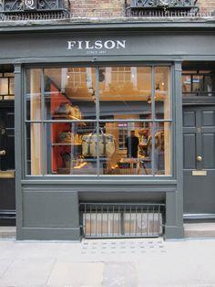 www.Filson.com | Find Filson in Soho, London.