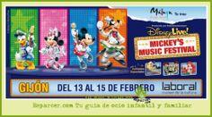 Disney Live! Mickey's Music Festival en Gijón
