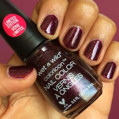 Wet n Wild Color Icon Nail Color Holiday Wine and Spirits (Holiday 2015 We're the Wild Cats collection)