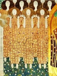 The Beethoven Frieze: Choir of Angels - Gustav Klimt