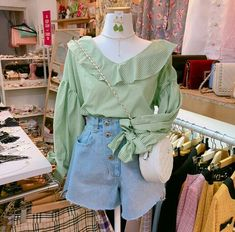 Classy Outfits, Trendy Outfits, Fashion Outfits, Ulzzang Fashion, Korean Fashion, Romantic Movies, Sweet Style, Fashion Beauty, Bell Sleeve Top