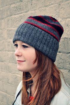 Ravelry Ravelry: Mallory Hat pattern by Mandy Powers - Mallory Hat Love Crochet, Learn To Crochet, Easy Crochet, Crochet Baby, Knit Crochet, Knit Hat Pattern Easy, Free Pattern, Knitting Patterns, Crochet Patterns