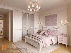 Фото интерьер детской комнаты из проекта «Дизайн интерьера четырехкомнатной квартиры в классическом стиле, 204 кв.м.»