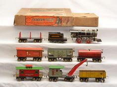 Buy online, view images and see past prices for Dorfan Prewar Narrow Ga. Litho Set Tender 600 603 604 605 609 610 Invaluable is the world's largest marketplace for art, antiques, and collectibles. Toy Trains, Model Trains, Standard Gauge, New York Central, January 6, Auction Items, Tin, Plate, Cars