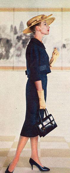 1958 Navy suit