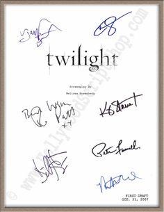#Twilight signed movie script by Taylor #Lautner, Robert Pattinson & 5 more! $19.95 http://www.hollywoodscriptshop.com/catalog/item/7986727/9291195.htm
