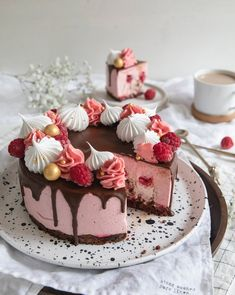 Good Healthy Recipes, Dessert Recipes, Desserts, Yummy Cakes, Cake Decorating, Decorating Ideas, Cupcake Cakes, Catering, Cheesecake