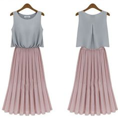 New Arrival Dress American Style Chiffon Dress - FixShippingFee- - TopBuy.com.au