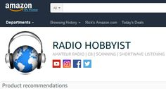 Woohoo! THE RADIO HOBBYIST has an exclusive 'influencer' designation. Recommended.