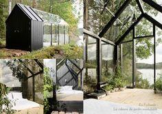 UNIVERS CREATIFS: En Finlande : La cabane de jardin modulable.