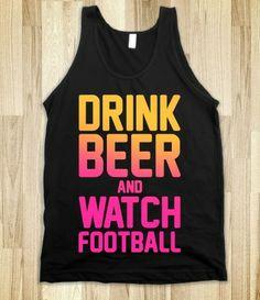 #drinking #game #tank #football #love