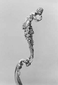 Attributed to Antonio Gentili (Antonio da Faenza) (Italian, ca. 1519–1610). Spoon (one of a set), late 16th century. Italian, Rome. The Metropolitan Museum of Art, New York. Rogers Fund, 1947 (47.52.3)