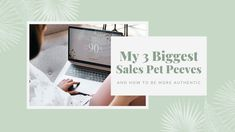 3 sales techniques I see all the time online that feel 'icky' and inauthentic, and what we can do instead to sell more naturally   byRosanna   #salestips #sellingtips #howtobeauthentic #authenticsales #petpeeves #sellingpetpeeves Sales Techniques, Sales Tips, Pet Peeves, Feelings, Pets, Videos, Youtube, Things To Sell, Design