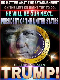 As GOD is my witness. I will trust in greatness, and the cleansing of American soil. Peace and Prosperity to all United American Citizens. One Nation Under GOD! I support GOD and his ways on these United States of America. Amen!