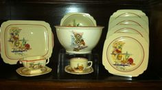 Homer Laughlin South Western Vintage Dishes