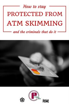 With the Holiday Season upon us, many people are using their debit cards more than normal. How can you protect yourself from ATM skimming?