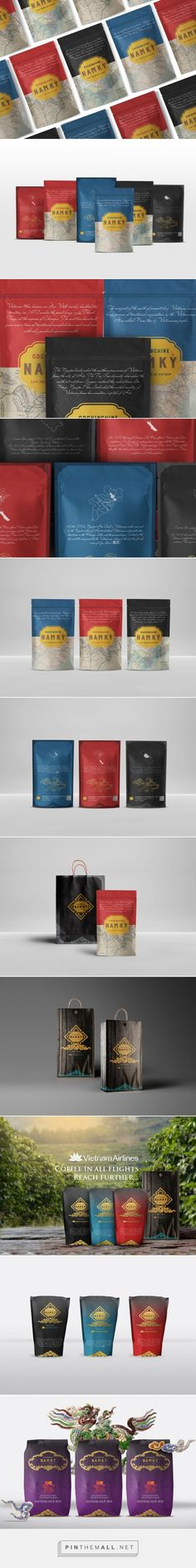 Nam Kỳ Roastery Coffee Packaging Design Concept by Gongvo Creative (Vietnam) - http://www.packagingoftheworld.com/2016/05/nam-ky-roastery-concept.html