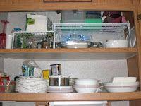 & Small Kitchen Storage Ideas | Pinterest | Small rv Rv and Spaces
