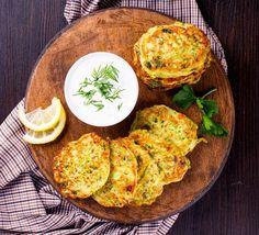 Vegas, Falafel, Vegetable Recipes, Zucchini, Chicken, Vegetables, Breakfast, Samara, Food