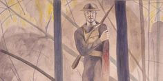 Claggett Wilson isn't exactly a household name, but his battlefield watercolors are getting a lot of buzz at a big new exhibition of World War I and American...