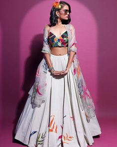 Indian Dress Up, Indian Attire, Indian Wear, Bride Indian, Indian Bridal Outfits, Indian Designer Outfits, Designer Clothing, Indian Lehenga, Lehenga Choli
