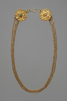 Necklace, German, 4th century.