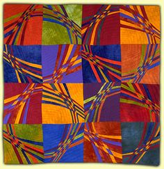 Ellin Larimer: Fiber Artist - Curvilinear and Counterpoint Series