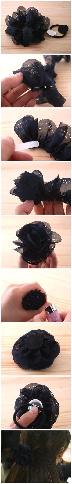 DIY Hair Flower